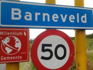 De koerier in Barneveld